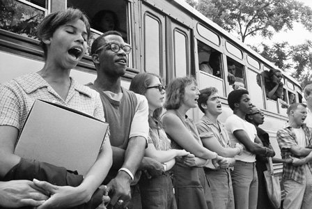 "On Friday, January 17, 2014, the Newseum opens ""1964: Civil Rights at 50,"" a yearlong exhibit about Freedom Summer, a ..."