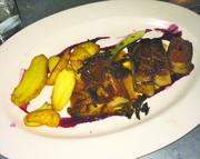 Pan–seared Steak