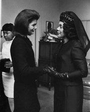 Jackie and Coretta