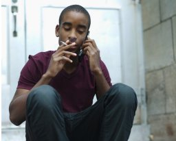 The surgeon general's latest report on tobacco use states that more than 5 million youth will die prematurely as adults as the result of smoking. (Courtesy of BET)