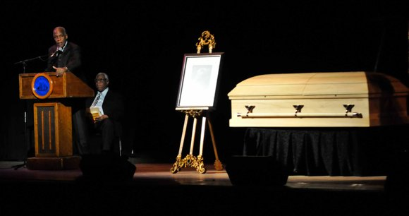Final arrangements have been made for a viewing and the burial of Amiri Baraka, the famed activist and poet who ...