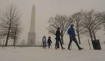 """Less than two weeks after a """"polar vortex"""" blasted across the nation, the D.C. region steeled Tuesday for another cold ..."""