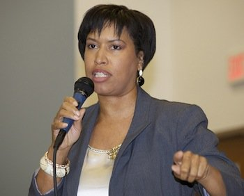D.C. Council member Muriel Bowser (D-Ward 4) hosted a fundraiser at the Woman's National Democratic Club in Northwest on Jan. ...
