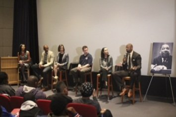 The Washington Wizards celebrated Martin Luther King Day with an interactive panel discussion for 50 high school students prior to ...