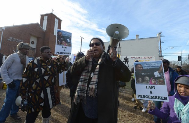 Dozens of participants took part in the annual King Peace Walk on Monday, Jan. 20 in Southeast D.C.