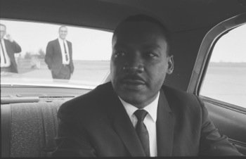 Martin Luther King Jr. spoke six months before his assassination to a group of students at Barratt Junior High School ...