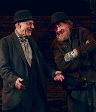 "Patrick Stewart and Ian McKellen in ""Waiting For Godot"""