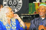 Mama Iyaluua Ferguson and Baba Herman Ferguson