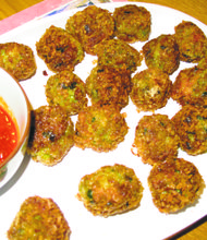 My Thai shrimp balls from last year's party