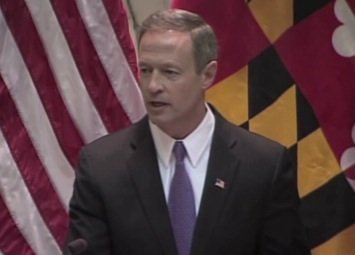Maryland Gov. Martin O'Malley delivers his final State of the State address at the State House in Annapolis on Jan. 23.