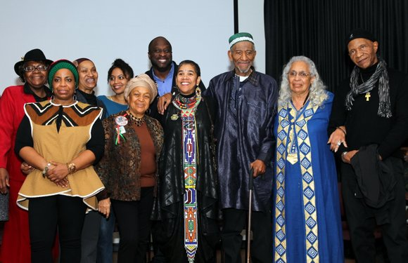 """It was the Malcolm X Commemoration Committee's (MXCC) 18th annual dinner tribute to """"our freedom fighters"""" and their families."""