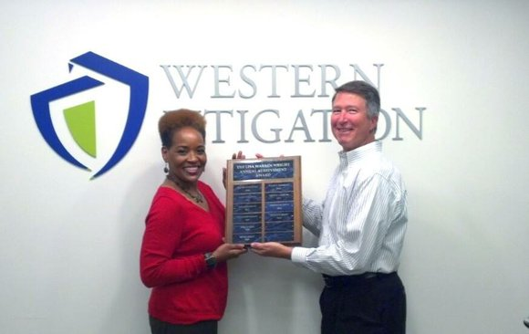 Houston-based Western Litigation, Inc. has named Juanita Hood the 2013 recipient of its annual Lisa Warren Wright Annual Achievement Award.