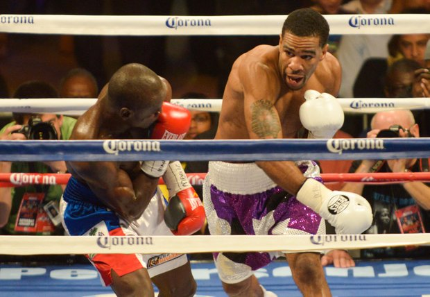 Junior welterweight champion Lamont Peterson landed 230 of 622 punches thrown against Dierry Jean on Saturday, January 25 at the D.C. Armory.Peterson handed Jean his first defeat during their match up.
