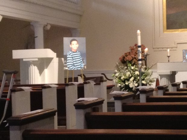 Avonte Oquendo's funeral was held at St. Joseph's church on Saturday Jan. 25