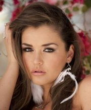 January 2014 Penthouse Pet Allie Haze