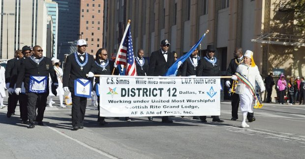 Local community organizations and political figures honored Dr. Martin Luther King Jr. during the 32nd annual MLK Parade/March on Saturday.