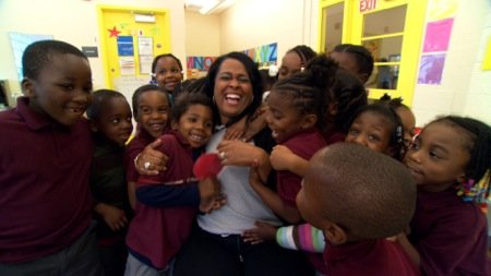 D.C. public schools are encouraging students, parents and residents to show their love for city instructors as part of a ...
