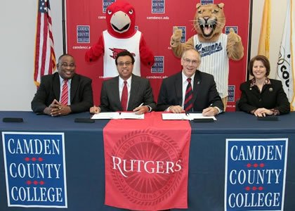 Students whose goal is to earn a bachelor's degree from Rutgers University–Camden after transferring from Camden County College have had ...