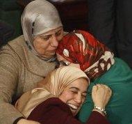 Tunisian women celebrating