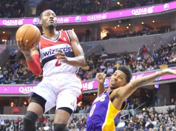 The NBA announced Thursday that Washington Wizards guard John Wall has been named an Eastern Conference reserve for the 2014 ...