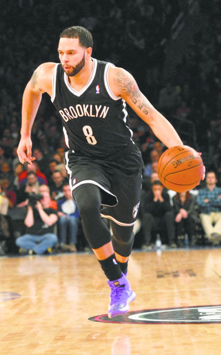 Veteran all-star Deron Williams will not let a bad moment 
