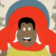 "Fat Albert original production at the ""Funky Turns 40: Black Character Revolution"" show."