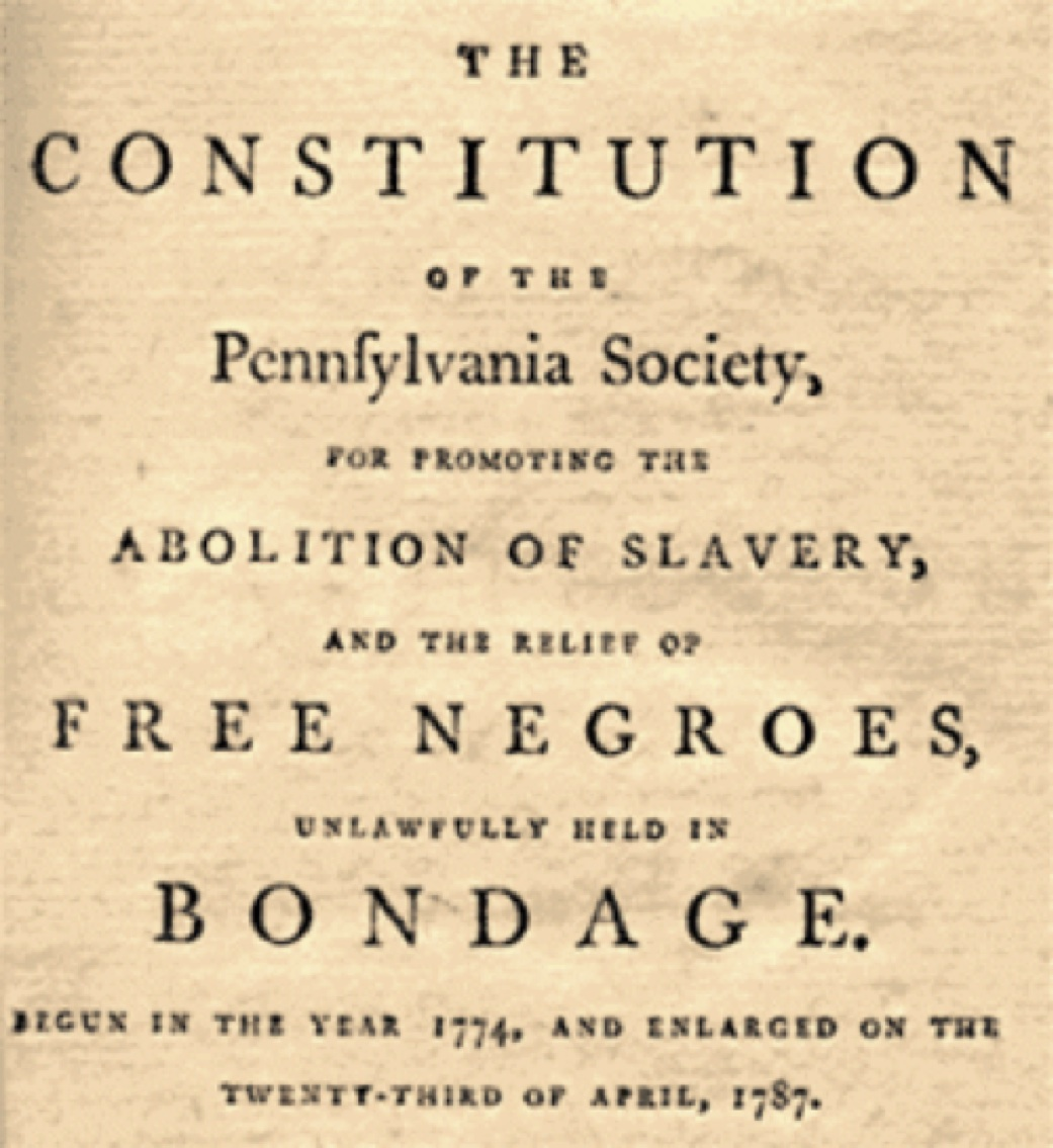 The Abolition Of Slavery Essay