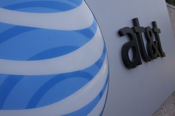 AT&T Building, Atlanta, signage Graphics Project
