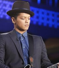 Bruno Mars appears on CNN's Piers Morgan Live.