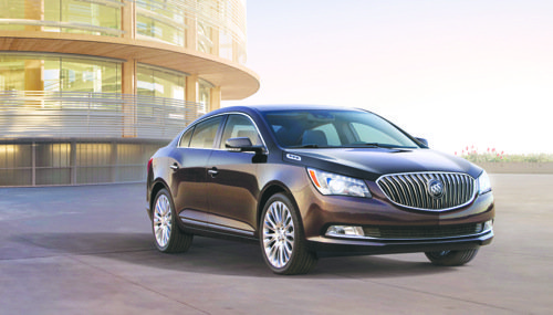 The 2014 Buick LaCrosse has received the highest possible 5-Star Overall Vehicle Score for safety as part of the National Highway Traffic Safety Administration's New Car Assessment Program. (Courtesy of General Motors)