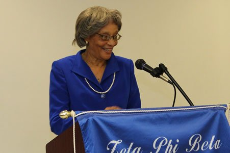 Zeta Phi Beta Sorority, Inc. - Alpha Zeta Chapter in Baltimore City Celebrates 90 years of Service to the Community