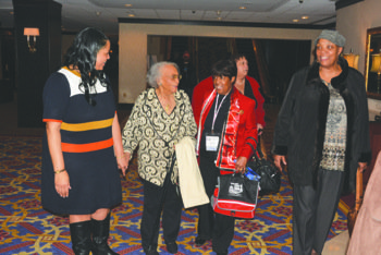 Eight-hundred Delta Sigma Theta Sorority, Inc. members from throughout the country gathered on Saturday, Feb. 1, in the grand ballroom ...