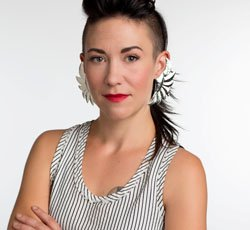"Fashion maven and 'Project Runway' winner Michelle Lesniak will share a story about her worst date ever at ""It's Not Me, It's You, a festive evening of storytelling on the dark side of dating, Wednesday, Feb. 12 at the Mission Theater, 1623 N.W. Glisan St."