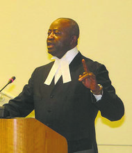 Judge Courtenay Griffiths