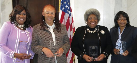 CrossRoadsNews editor/publisher Jennifer Parker was on of five women in the media honored by the DeKalb History Center at its ...
