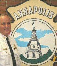 Annapolis Fire Chief David Stokes