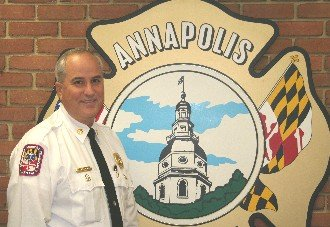 Annapolis Mayor Michael Pantelides and Fire Chief David Stokes publicly thanked Baltimore Gas & Electric (BGE) for an Emergency Responder ...