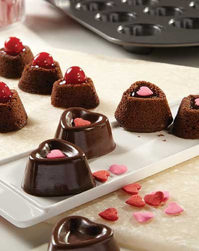 "Nothing says ""I love you"" on Valentine's Day more than heart-shaped, homemade treats. This year, try individual treats to make ..."