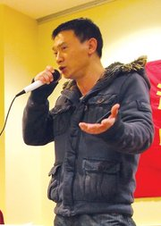 Former Chinatown resident Yong Sheng Huang describes how he was forced out of his apartment and became homeless.