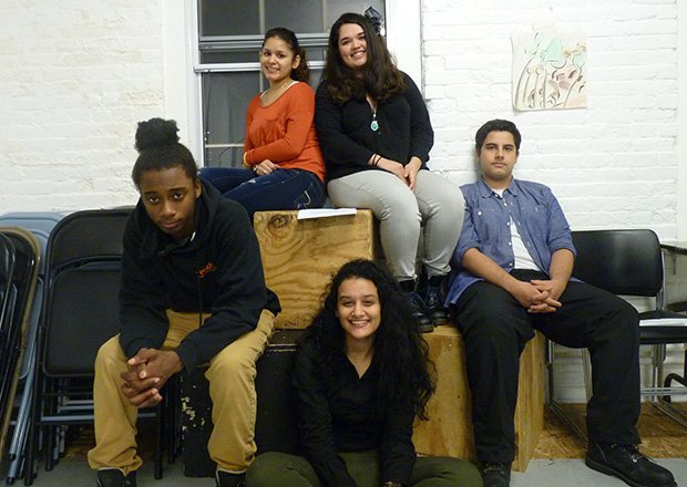 Company One Theatre  has expanded its summer student apprenticeship program from December to May to allow students to take part during the school year. Apprentices shown above (clockwise from top left): Brieana Valdez, Shayna Bredbeck, Kemal Beyaztas, Nada Shaaban and  Shawn Phillip.