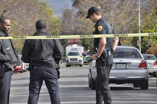 LOS ANGELES (CNS) - A 21-year-old man was convicted Monday of four counts of attempted murder for a shooting that ...