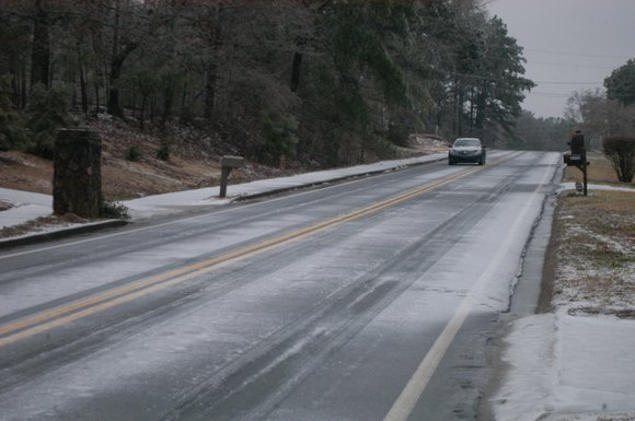 A winter storm dumped snow and ice on DeKalb and the rest of metro Atlanta late Tuesday and into Wednesday ...