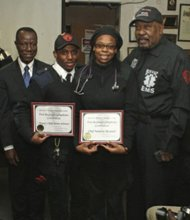 Bed-Stuy Volunteers graduation ceremony