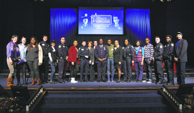 NYPD-All Stars partnership kicks off new year
