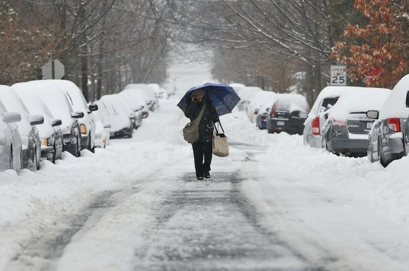 The D.C. metropolitan area, along with much of the East Coast, was slammed by a powerful winter storm that brought ...