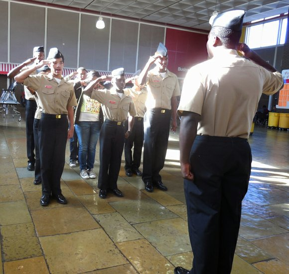 The Stone Mountain Navy JROTC Pirates will show off their organizational leadership skills, military bearing, knowledge, and precision marching abilities ...
