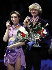 Meryl Davis and Charlie White make history winning Olympic gold