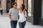 """Michael Ealy and Joy Bryant also star in the remake of """"About Last Night."""" Loosely based on the 1980s original, the movie features Ealy and Bryant as  a couple that decide to give a relationship a shot after a one-night stand."""