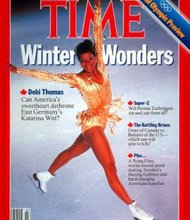 Debi Thomas Time cover