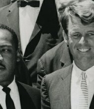 Photos related to the 50th anniversary of Robert Kennedy's swearing in as U.S. Attorney General.